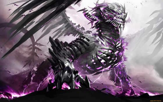 дракон, скелет