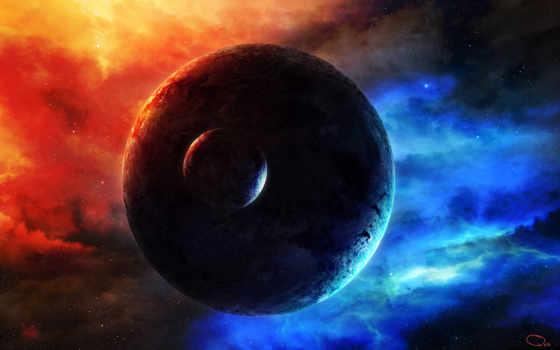 космос, свечение Фон № 24297 разрешение 1680x1050