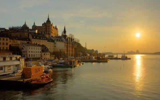 набережная, stockholm, sweden
