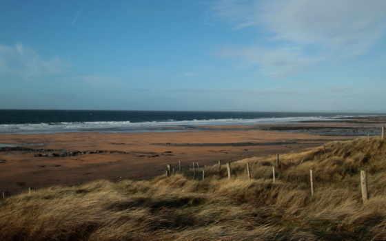 ветер, пляж, море