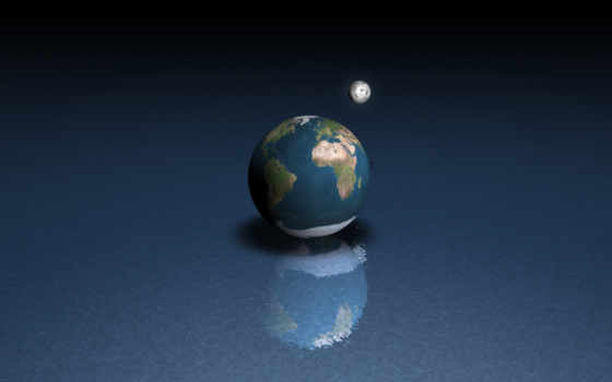 land, луна, water