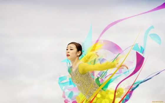 deviantart, art, yuna, kim, patinaje, artistico,