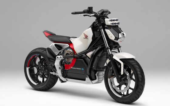 honda, assist, катание, мотоцикл, electric, company, привезет, concept,