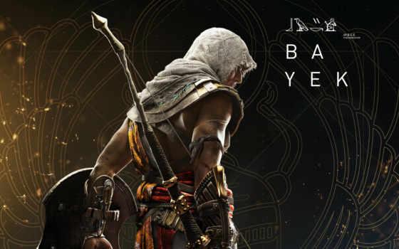 creed, assassin, origins, bayek, free, assassins, календарь,