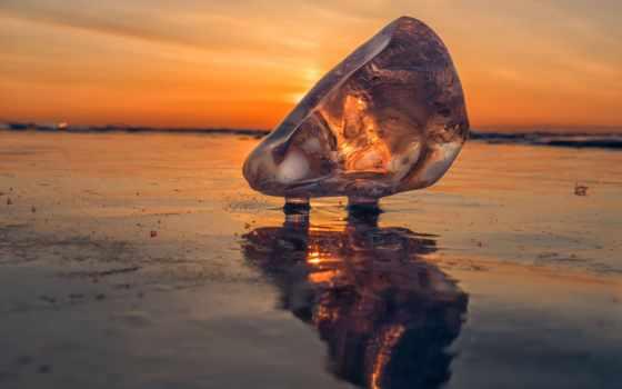байкал, лед, озеро, байкал, iphone, desktop, crystal,