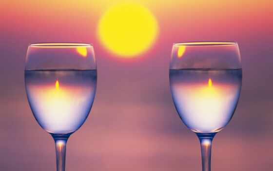 glass, sunset, вино, wine, two, wallpapers, часть, desktop, hd, широкоформатного, украины, разрешения, computer,