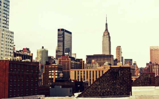 york, new, город Фон № 67995 разрешение 1920x1200