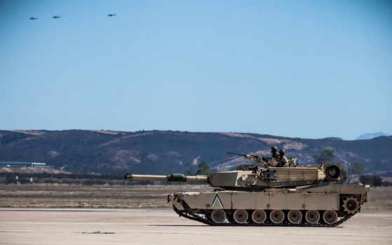 оружие, абрамс, танк