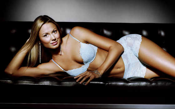 stacy, keibler, белье