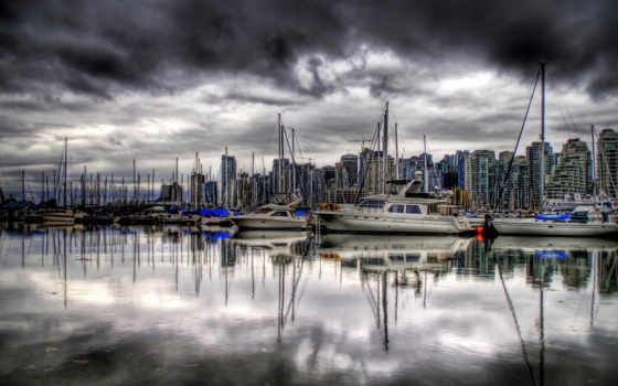 канада, лучшая, коллекция, город, яхты,