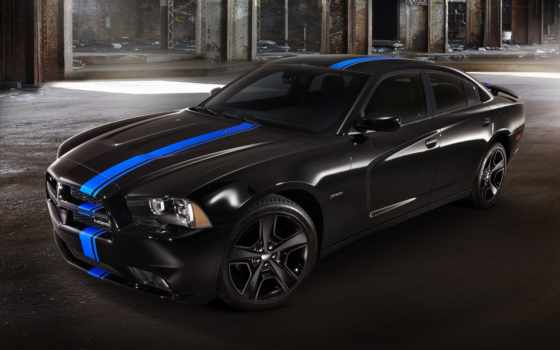 charger, dodge, black