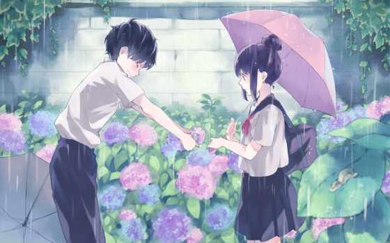 anime, love