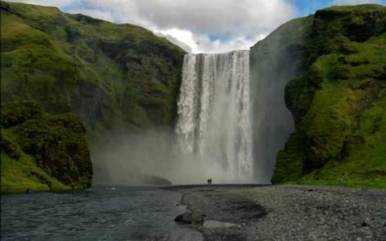 водопад, abyss, модель