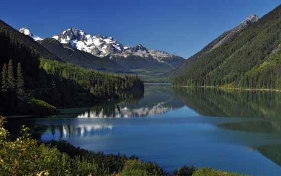 park, красавица, густой, among, сети, озера, озеро, речных, water, потоков, бесчисленных,