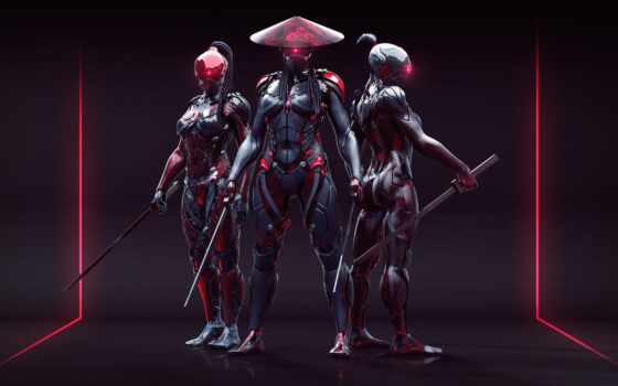 cyberpunk, день, art, outfit, девушка, доспех, другие, nelson, carl, одеть