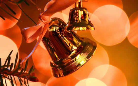 christmas, bells