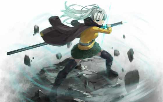anime, девушка, title, изображение,