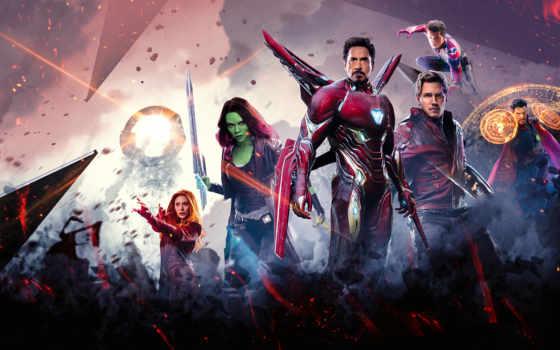 avengers, бесконечность, war, плакат, marvel, мстители, trailer,