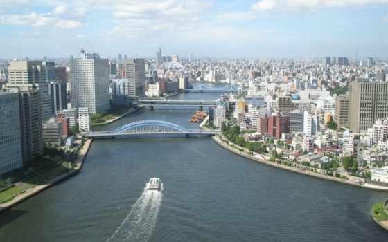 города, город, landscape, высоты, полёта, птичьего,