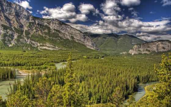 landscape, горы, park