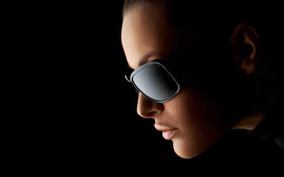 очках, очки, девушка, devushki, черных, девушек, тёмные, яркие, линзы,