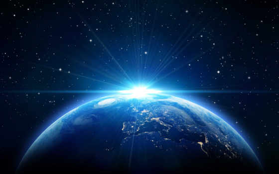 earth, космос, ночь