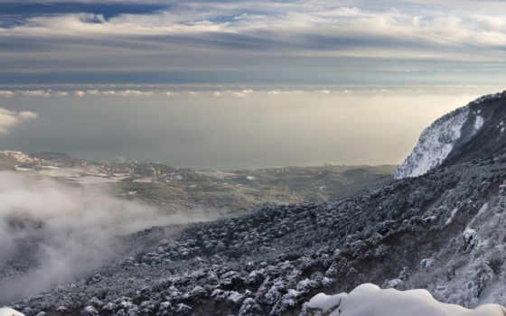 петри, aw, ay, природа, горы, kırım, haspra, снег, ukraine,