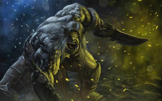 bladefist, kargath, art, orc, каргат, warcraft, ostroruk, world, wow