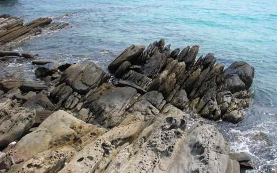 ocean, rocks, oceans