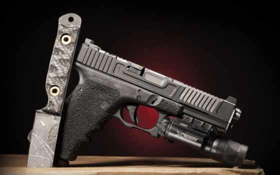 glock, пистолет, марк, оружие, desktop, нож,