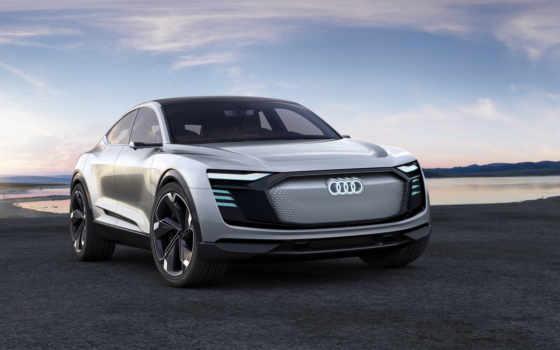 ауди, tron, sportback, шанхае, electric, кроссовер, concept, coupe, автосалоне, представила, new,