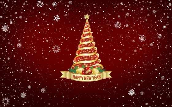 год, new, праздник, настроение, минимализм, картинка, снег, елка, новым, годом, winter,