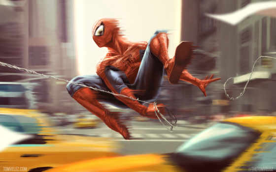 мужчина, паук, art, картинка, comics, номерам, масть,