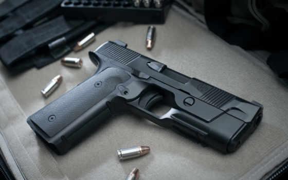 new, пистолет, hudson