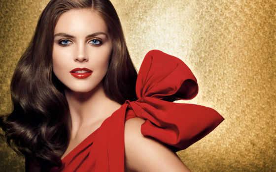 макияж, платье, красное, под, брюнеток, вечер, узнайте, макияжа,