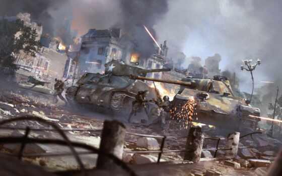 thunder, war, game, german, feispalmycha, танк