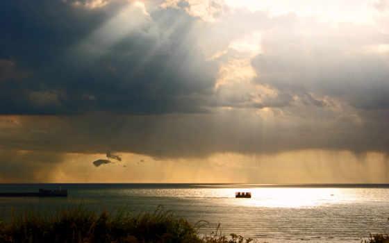természet, облака, képtelenség