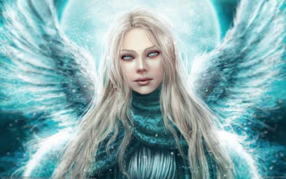 angel, девушка, wings