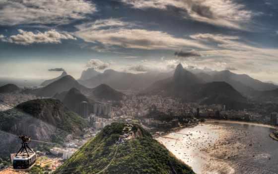 rio, janeiro, parede, papel, brazil, рио,