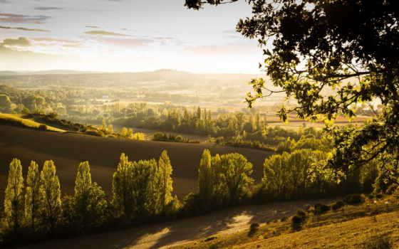 природы, утро, tuscany, мб, прекрасное, песни, красивые, солнечная, обоях, часть, количество,