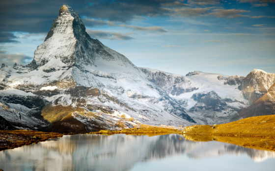 горы, landscape, озеро, природа, пейзажи -, небо, mountains, лес,