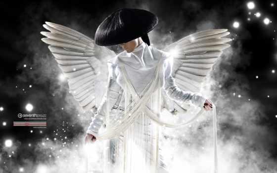 angel, white, свет, красивые, мишура, fantasy, рисунок, крылья, девушка,