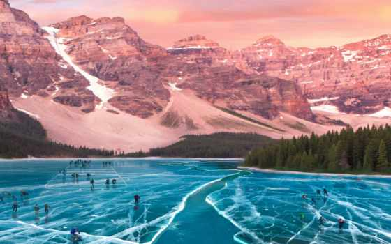 природа, mountainous landforms