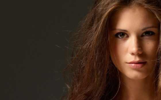 caprice, little, brunettes, closeup, волосы, eyes, twarze, długie, włosy, oczy,