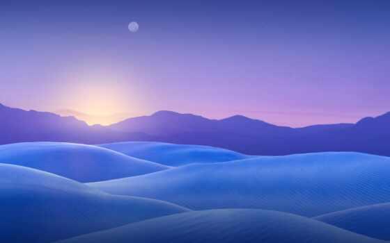 blue, dune, песок, луна, best, уж, loaded