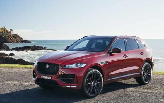jaguar, pace, car, rover, bordovyi, внедорожник, logo, red, вид