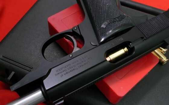 пистолет, патрон, solid