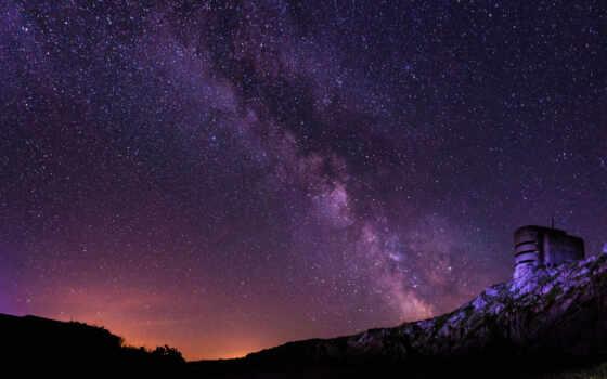 небо, ночь, starry, star