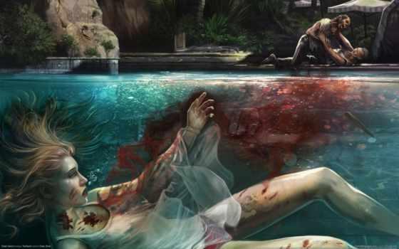 dead, кровь