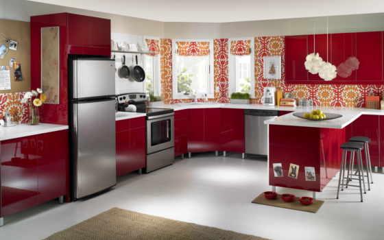 electrodomésticos, cocina, este, estilo, los,